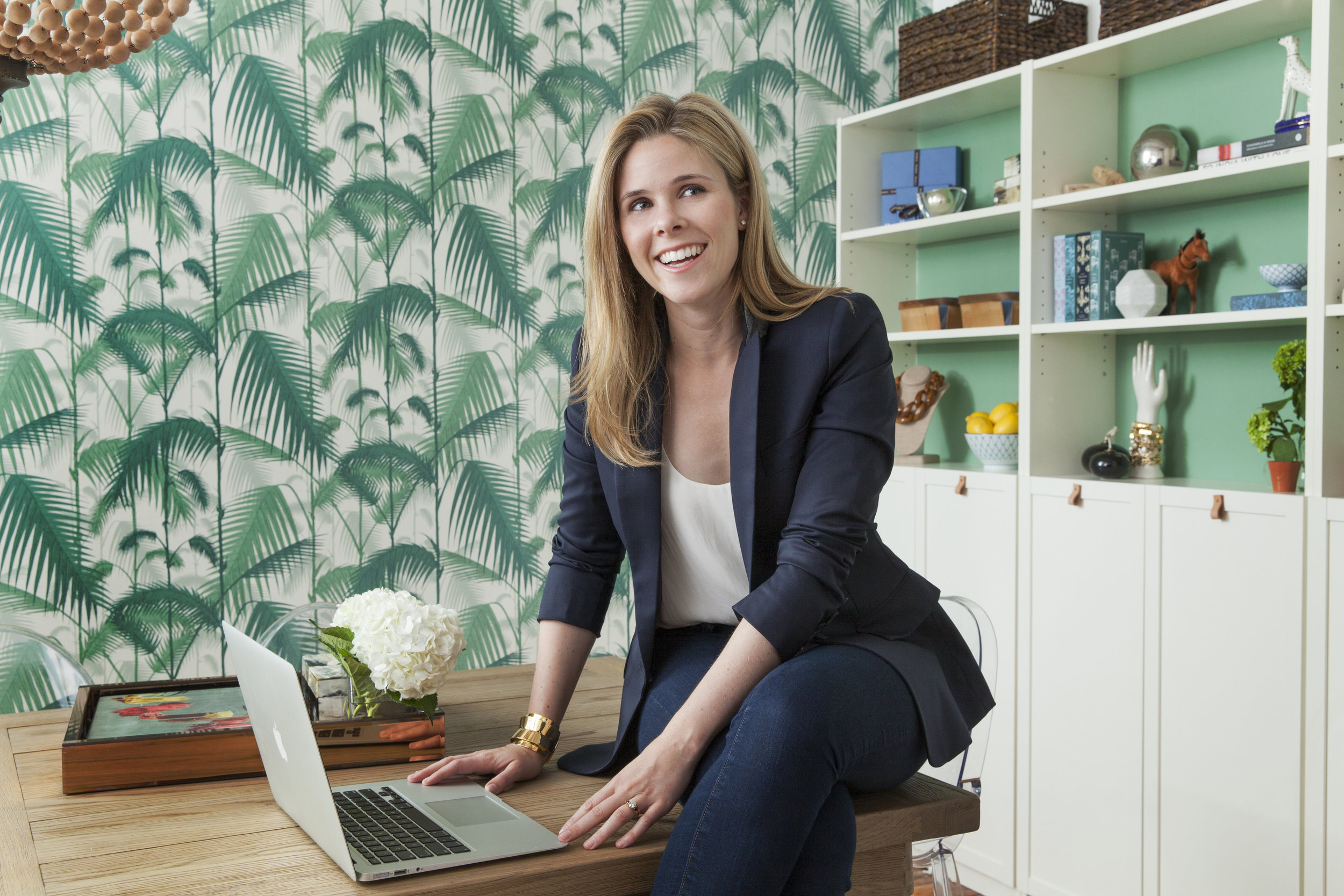 Halsbrook.com   founder and CEO Halsey Schroeder in her New York City office. Her beautifully curated online shopping site is filled with unique, high-quality pieces for women 50 and up. As a special gift to readers of The O Report, she's offering a 20% discount sitewide from April 7-April 21.This offer cannot be combined with other offers. To get this special discount, please use code OLIVIA20 at checkout.