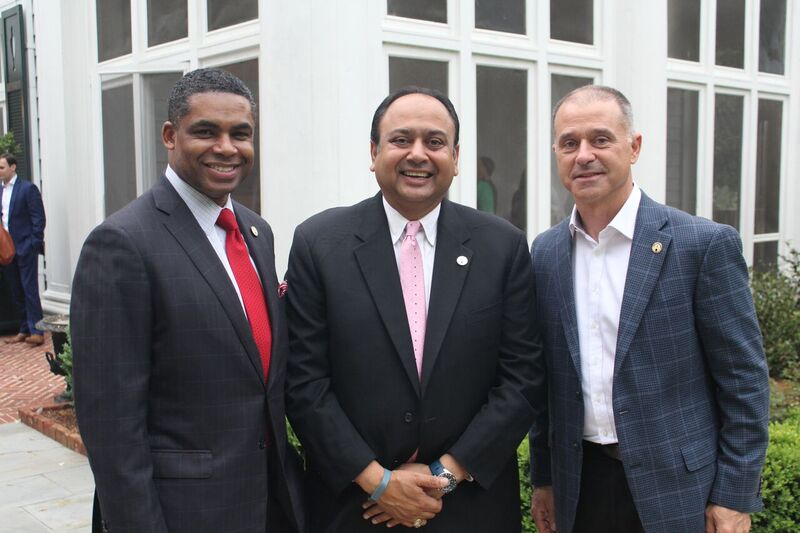 KiethCockrell (from left), Vinay Patel and Chad Utermark will be honored June 16 at the Father of the Year Awards, a fundraiser for the American Diabetes Association.