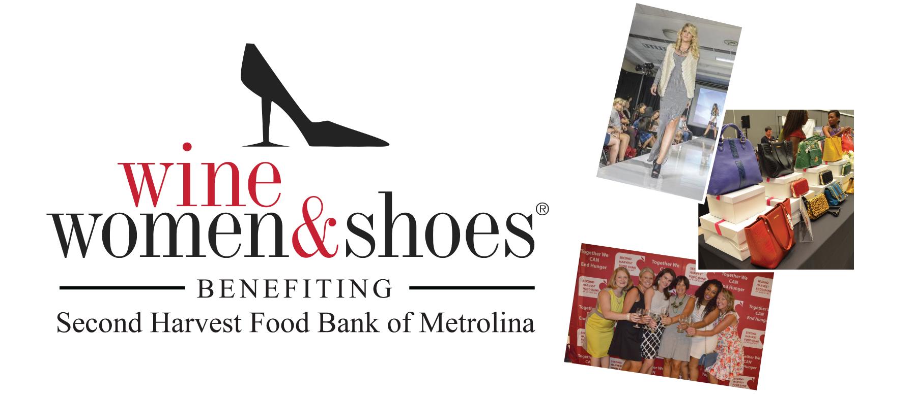 Wine, Women & Shoes on Sept. 21 benefits Second Harvest Food Bank of Metrolina.