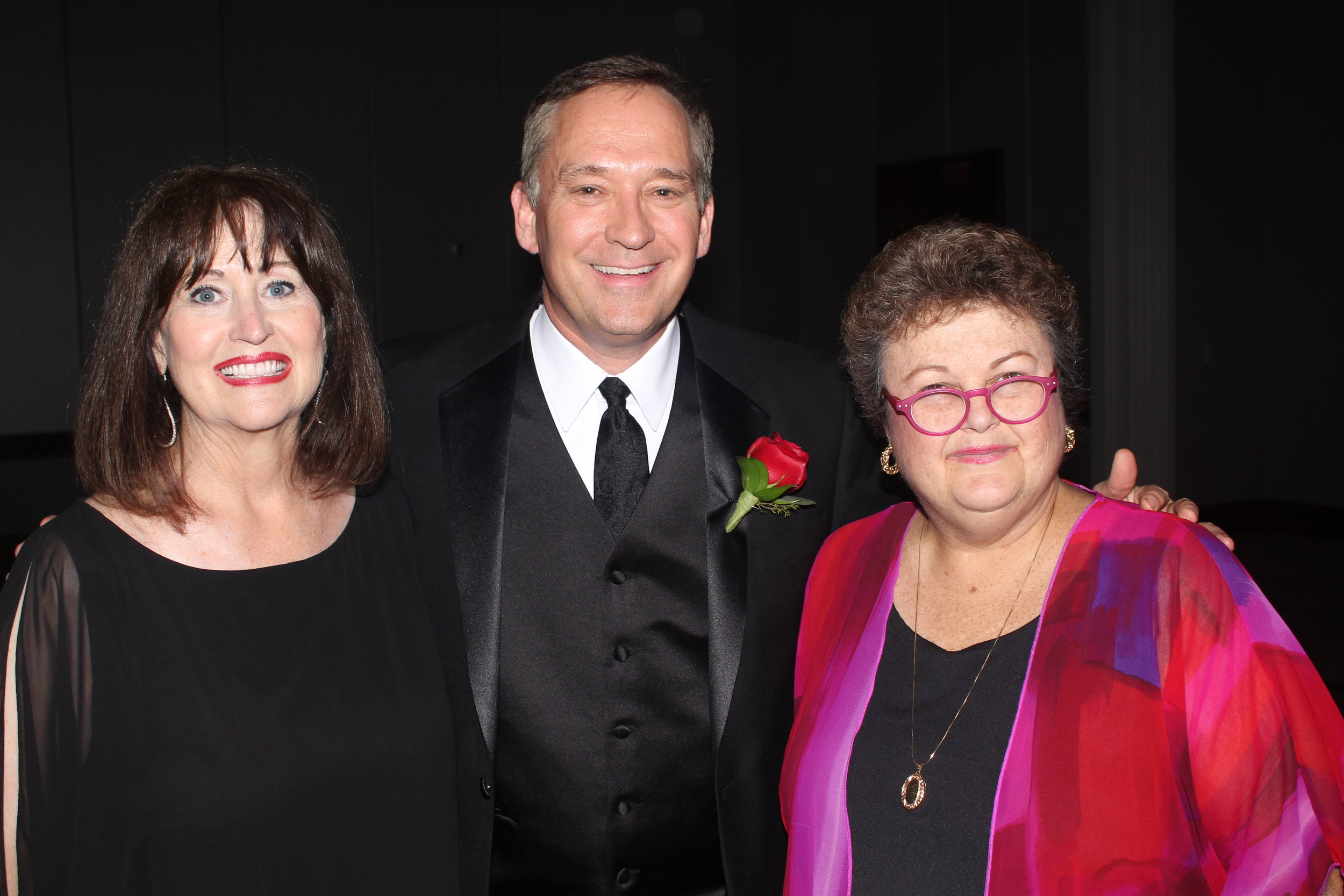 Dianne Roth, Jamie Boll and Pat Higgins.