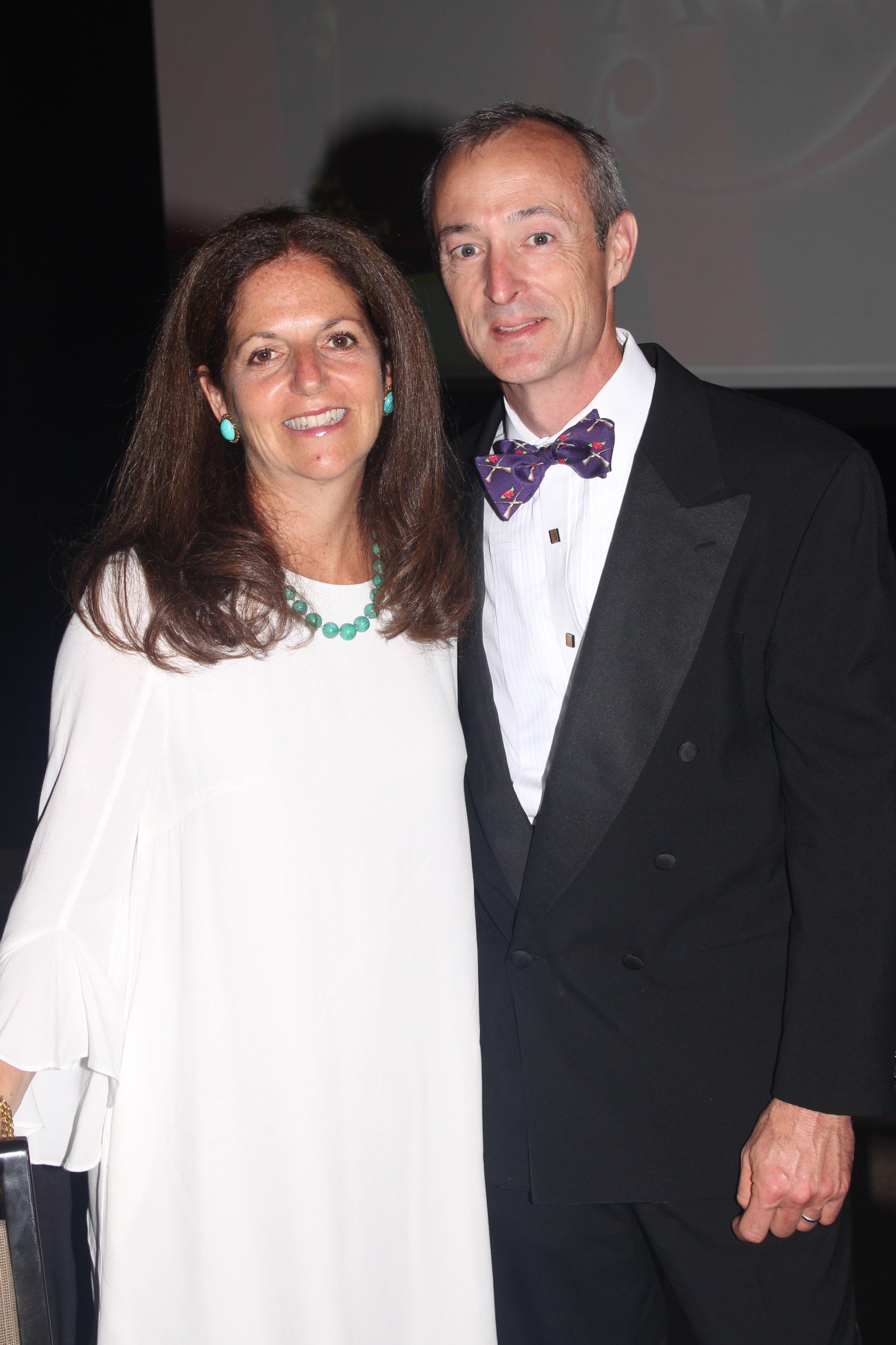 Leslie and Bruce Schlernitzauer.