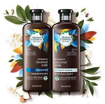 Herbal Essences Coconut Milk Shampoo and Conditioner were named the best hydrating shampoos and conditioners by Good Housekeeping magazine. They're available at drugstores for $6 each.