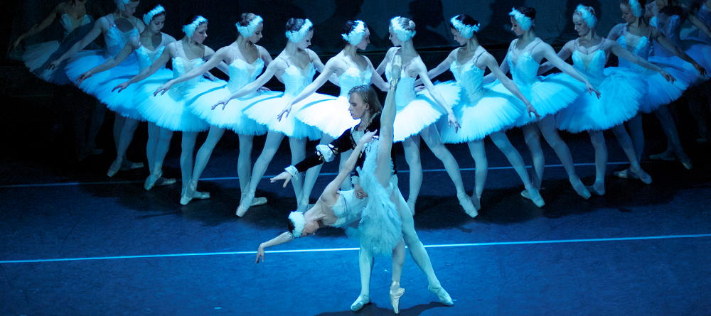 SWAN LAKE , THE MOST-LOVED CLASSIC BALLET, WILL BE PERFORMED BY RUSSIAN BALLET DANCERS ON DEC. 21 AT KNIGHT THEATER.