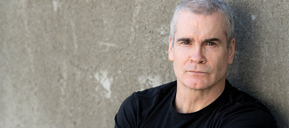 Photographer Henry Rollins discusses his world travels on Jan. 10 at Spirit Square.