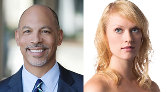 Carolinas HealthCare Systems President and CEO Gene Woods and Charlotte Ballet's Sarah Hayes Harkins are among the businesspeople and dancers paired together to raise funds for Charlotte Ballet and other local nonprofits.