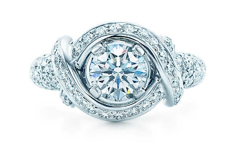 Tiffany designer Jean Schlumberger's signature engagement ring.