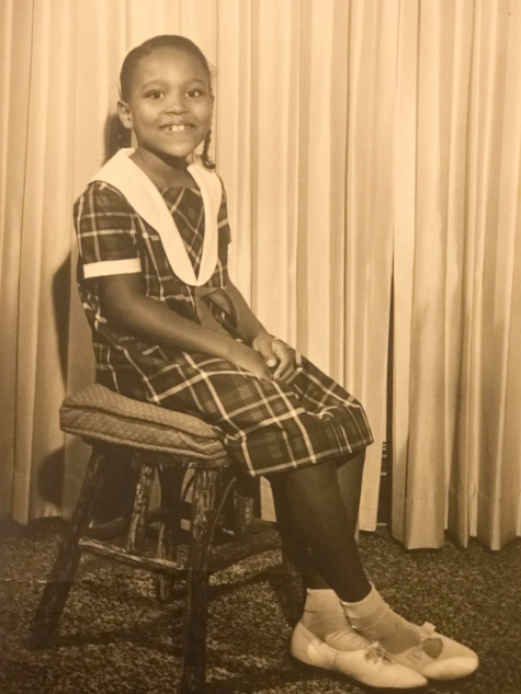 Francene as a young girl growing up in Missouri.