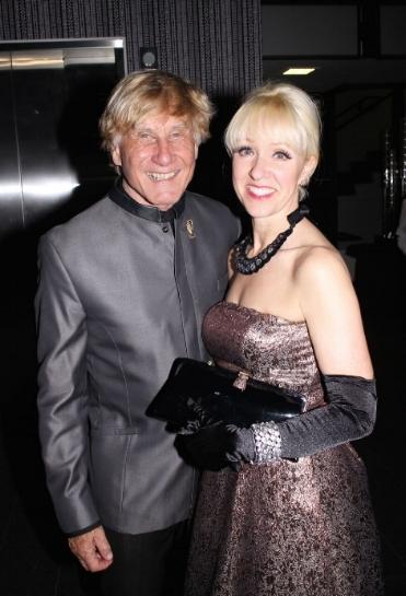 Andreas and Regine Bechtler at a past Bechtler Museum of Modern Art gala. This year's fundraiser is April 20.