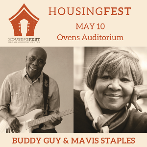 Last year's HousingFest raised $50,000 for Urban Ministry Center. This year's concert is May 10 at Ovens Auditorium.