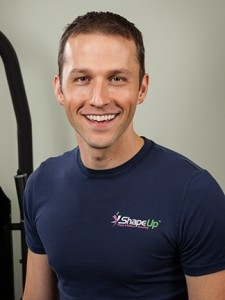 Fitness and nutrition expert Michael Anders of Shape Up Fitness & Wellness Consulting.