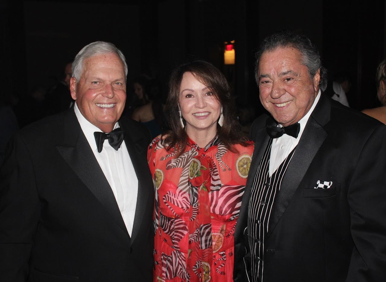 Rick and Linda Hendrix with Felix Sabates