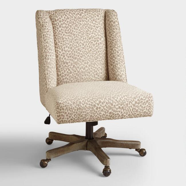 Mali Ava Upholstered Office Chair, $249.99. World Market