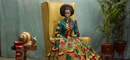 The must-see  African Print Fashion Now  exhibit runs Oct. 7, 2018 through April 28, 2019 at the Mint Museum Randolph.