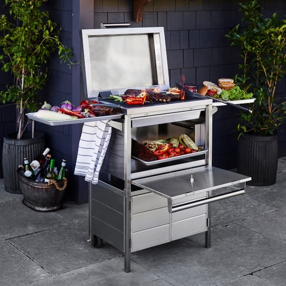 The one-of-a-kind grill by Chef Michael Mina is available only at Williams Sonoma. $999.95.