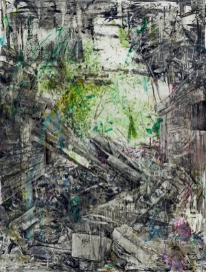 Interiors,  an exhibit of works by Damian Stamer, is on view through Nov. 9 at Soco Gallery.