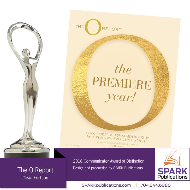 The O Report Magazine Wins Prestigious Award (#8)