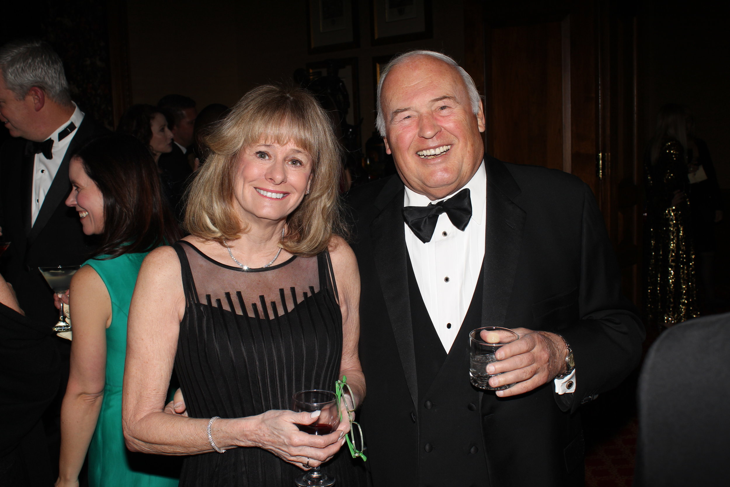 Kathy Reichs, internationally renowned author and creator of the TV show,  Bones , with her husband, Paul.