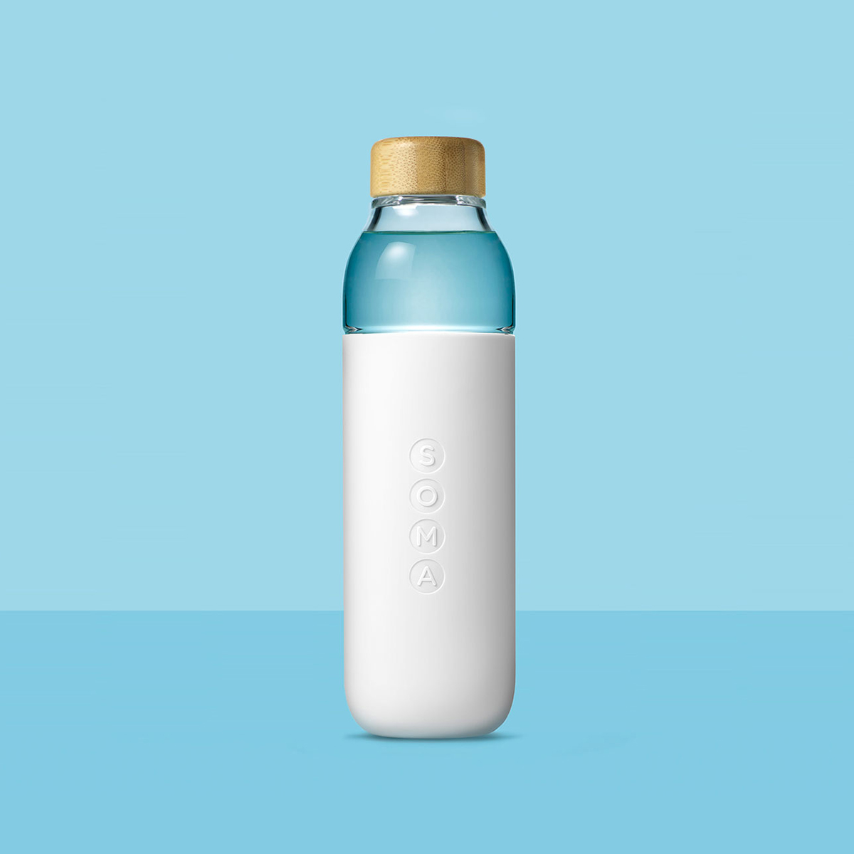 Purchase a glass water bottle from Soma and a donation will be made to Charity: Water, a nonprofit that supports safe drinking water projects globally. $30.   drinksoma.com  .