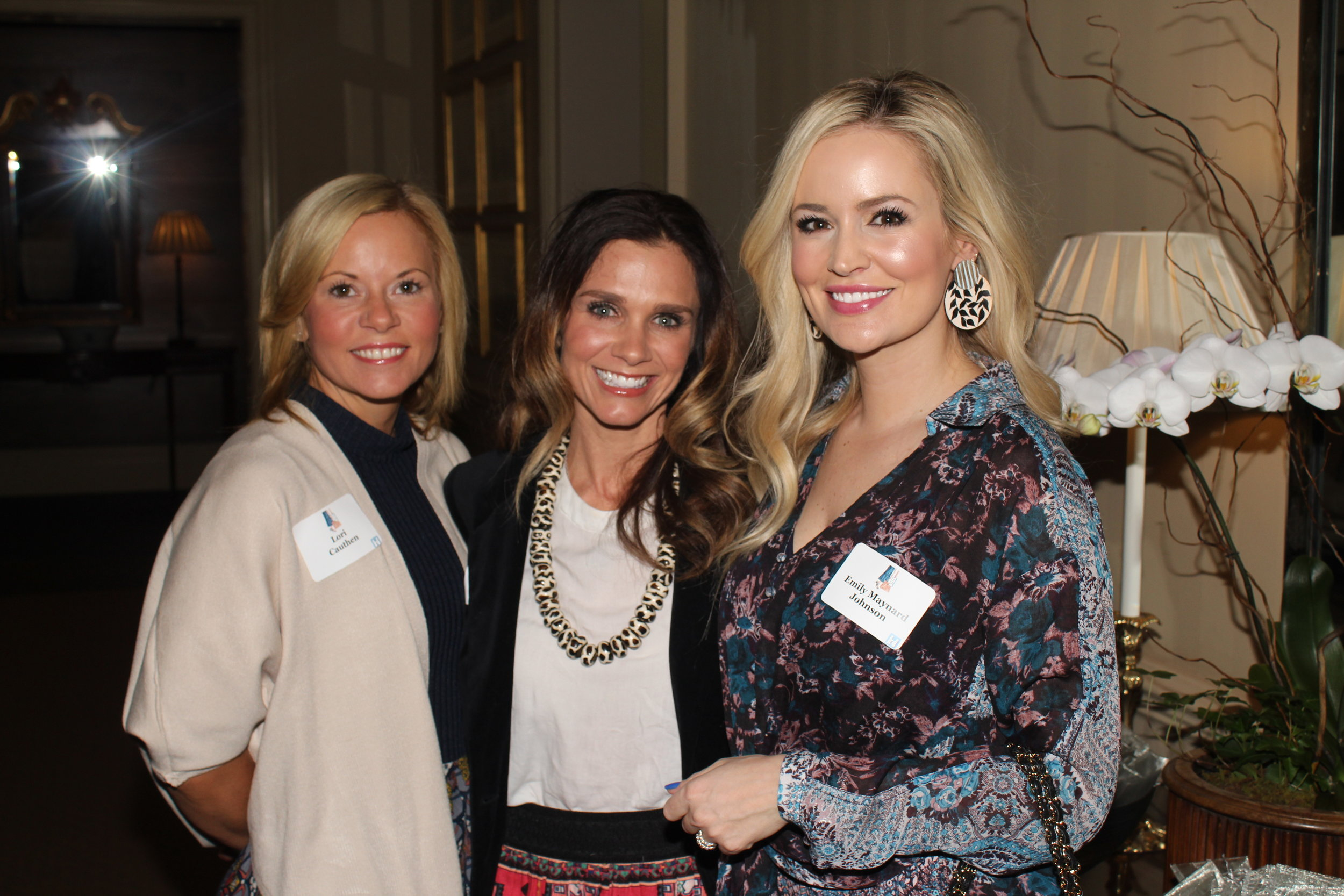 Emily Maynard Johnson, right, was one of the committee members.