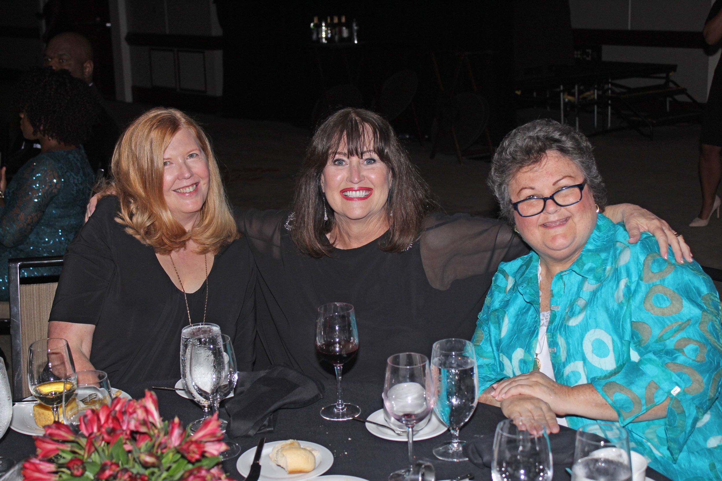 Olivia Fortson, Dianne Roth and Pat Higgins.