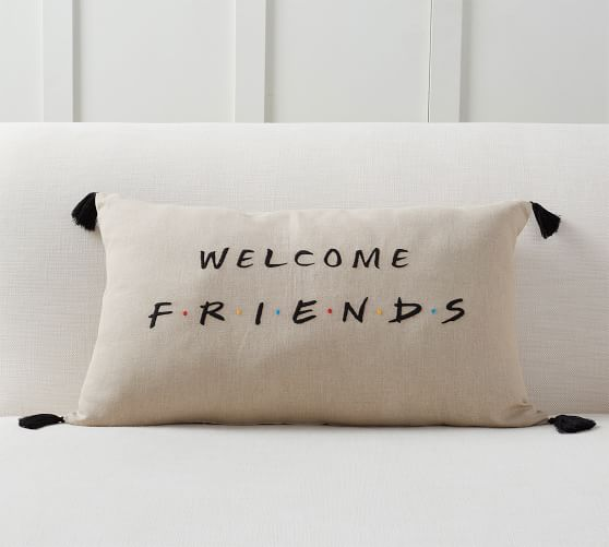 Welcome Pillow, $49.50