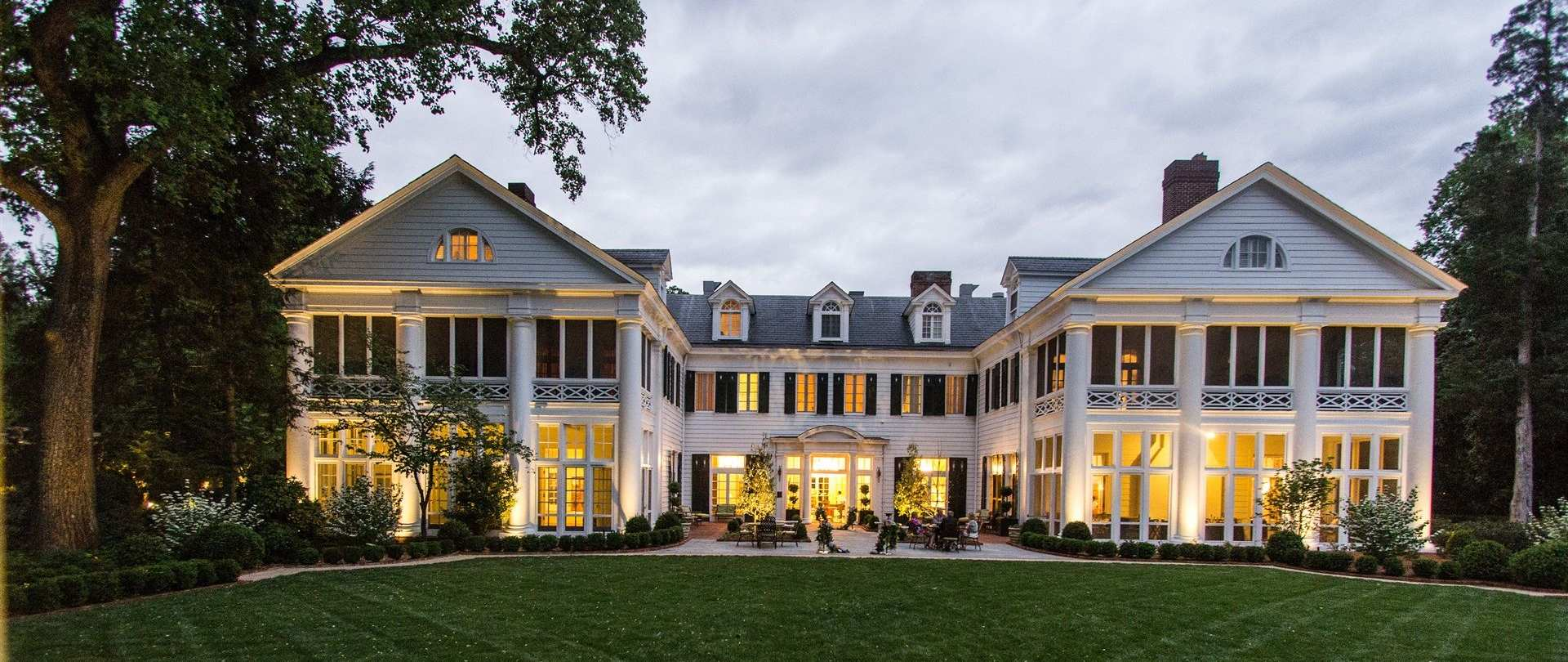 DUE TO POPULAR DEMAND, THE HISTORIC DUKE MANSION IS CONTINUING ITS SUMMER COCKTAIL EVENINGS EVERY MONDAY-THURSDAY IN AUGUST FROM 5 TO 8 P.M.