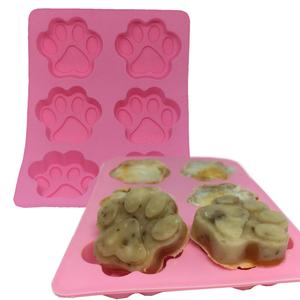Paw Print Muffin Pan Ice Cube Mold from Pawsome Doggie, $11.99.