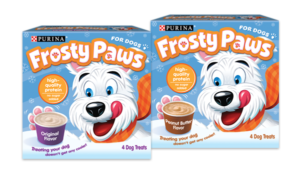 If you choose a store-bought processed treat such as Purina's Frosty Paws, Dr. Mercer recommends only giving your dog one a day.