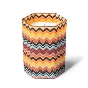 Missoni Tuscan Sunrise Zig Zag Glass Jar Candle, $12.