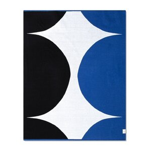 "Marimekko 60""x50"" Throw Blanket, $30."