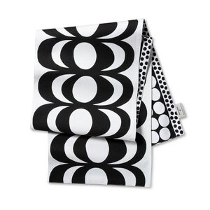 "Marimekko 72""x14"" Reversible Cotton Table Runner, $17."