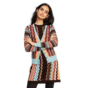 Missoni Zig Zag Long Sleeve V-Neck Button Front Cardigan, $55.