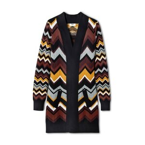 Missoni Zig Zag Long Sleeve V-Neck Blouse, $45.