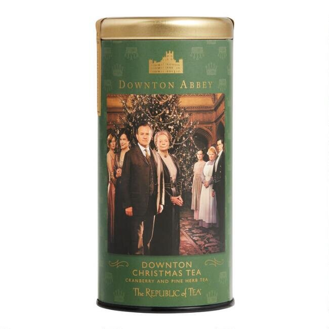 The Republic of Tea Downton Abbey Christmas Tea, $12.99.