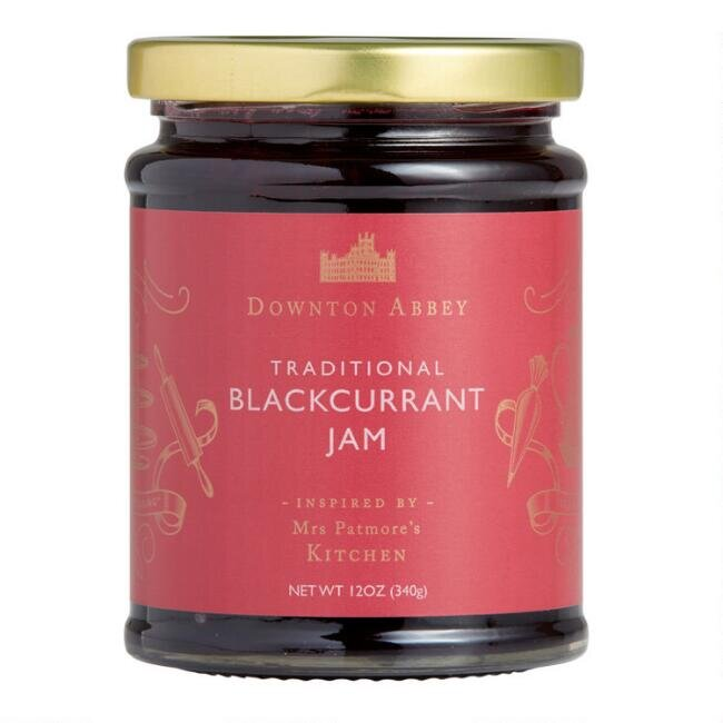 Downton Abbey Blackcurrant Jam, set of two, $9.98.