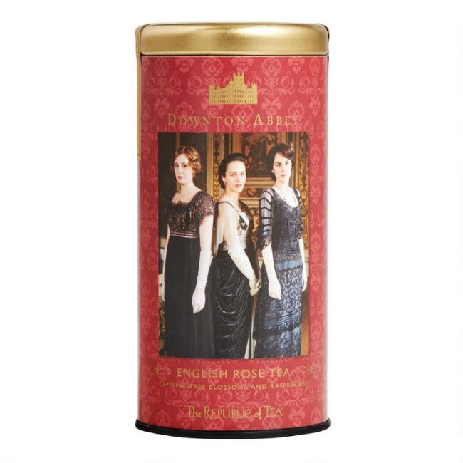 The Republic of Tea Downton Abbey English Rose Tea, $12.99.