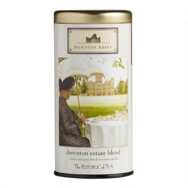 The Republic of Tea Downton Abbey Estate Blend Tea Tin, $12.99.
