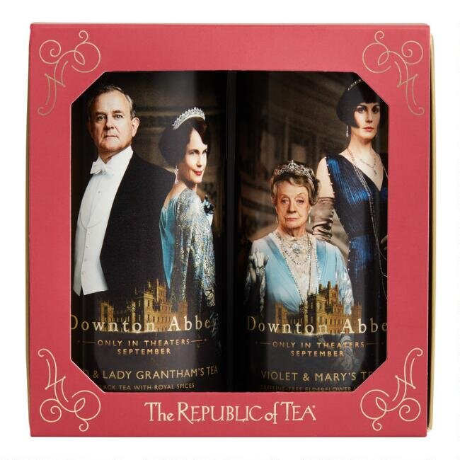The Republic of Tea Downton Abbey Gift Box, $24.99.