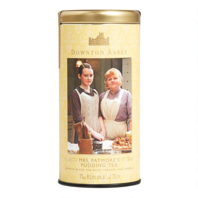 The Republic of Tea Downton Abbey Mrs Patmore's Pudding Tea, $12.99.