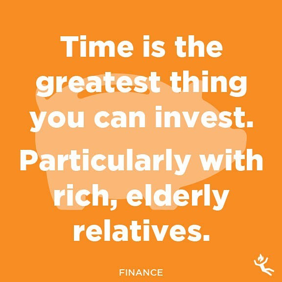 : finance.  #finance #financial #money #cash #retirement #retired #wealth #rich #timesup #investinyourself #investing #invest #investment #old #dying #elderly #relatives #inheritance #time #funny #humor #laugh #memesdaily #quotes #quotestoliveby #advice #wisdom #tips #lifehacks