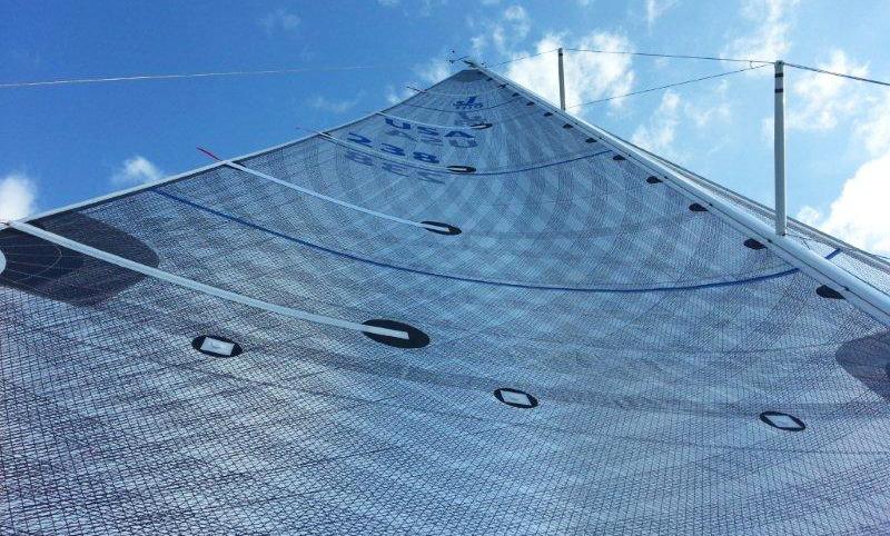 A Titanium mainsail on a J/109