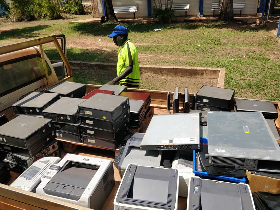 Shepherdson e-waste collection.jpg