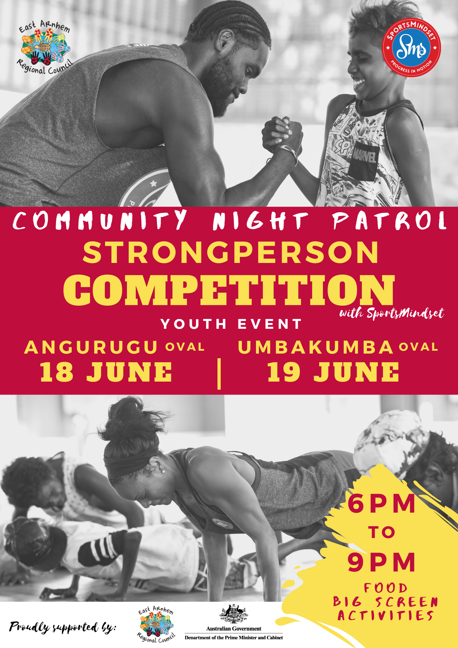 youth event - Community Strongperson Competition