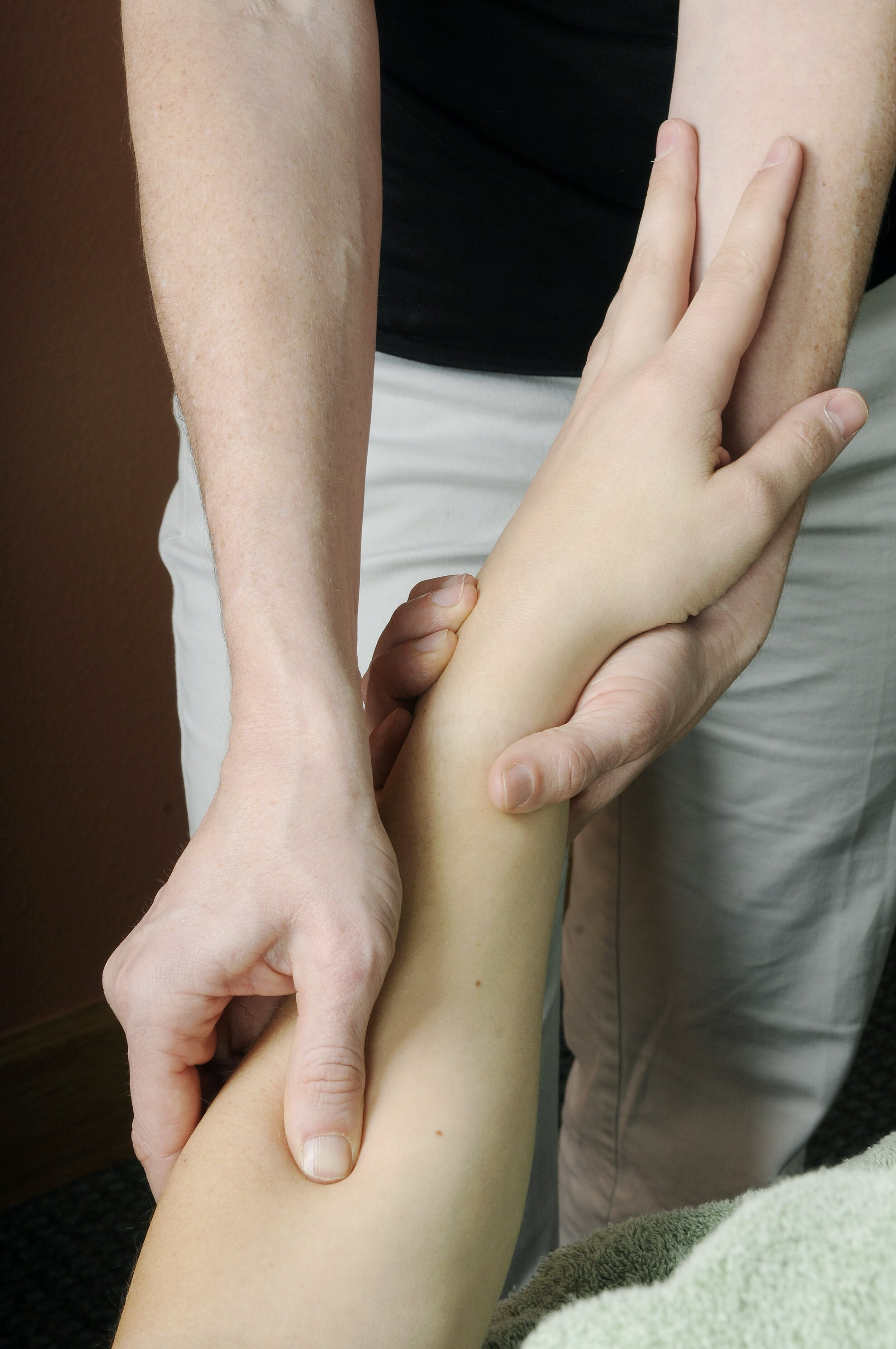 Hand and forearm massage