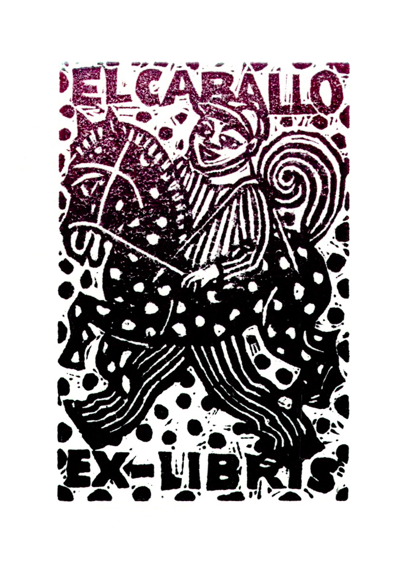 Ex libris El Caballo