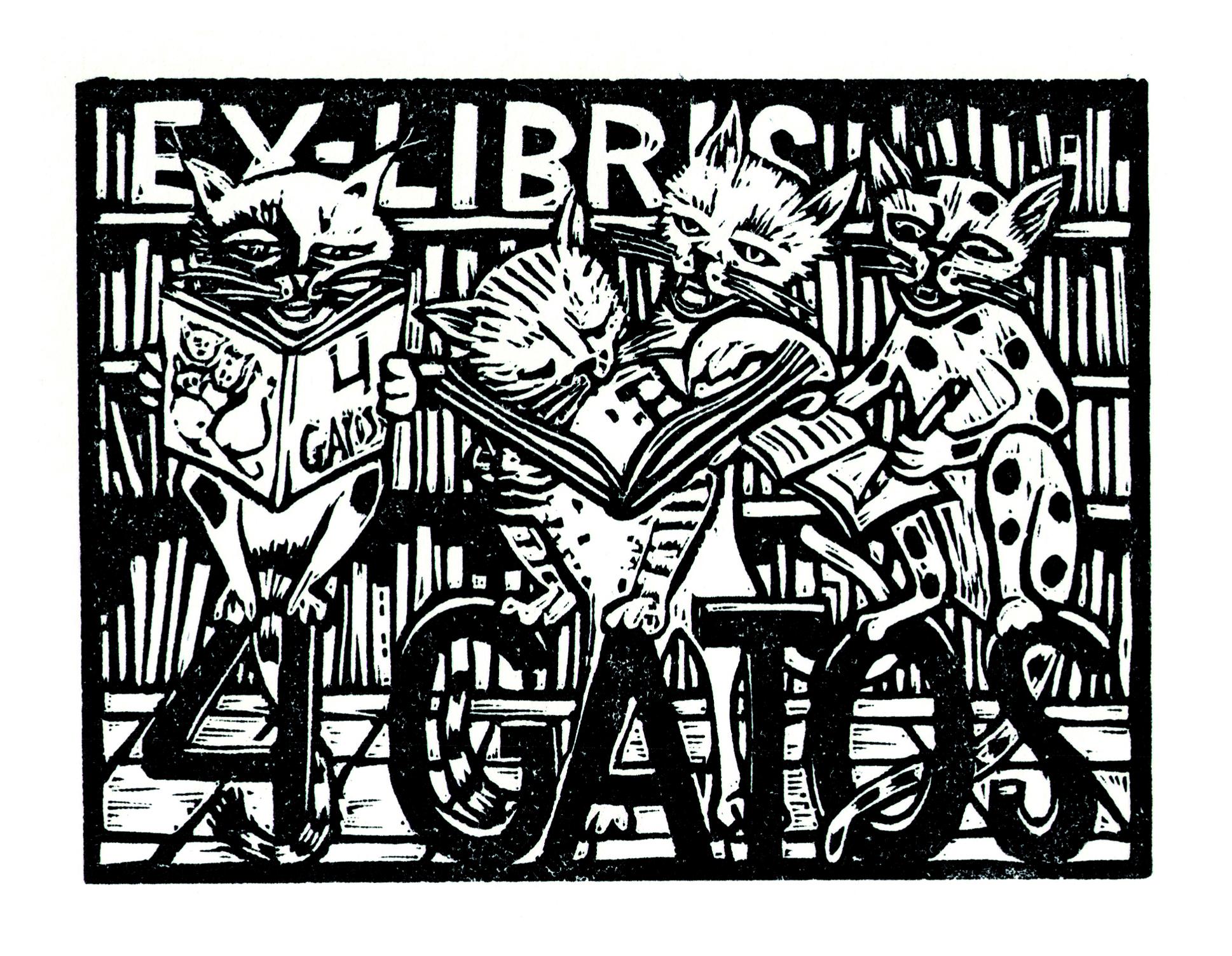 Ex-Libris 4 Gatos