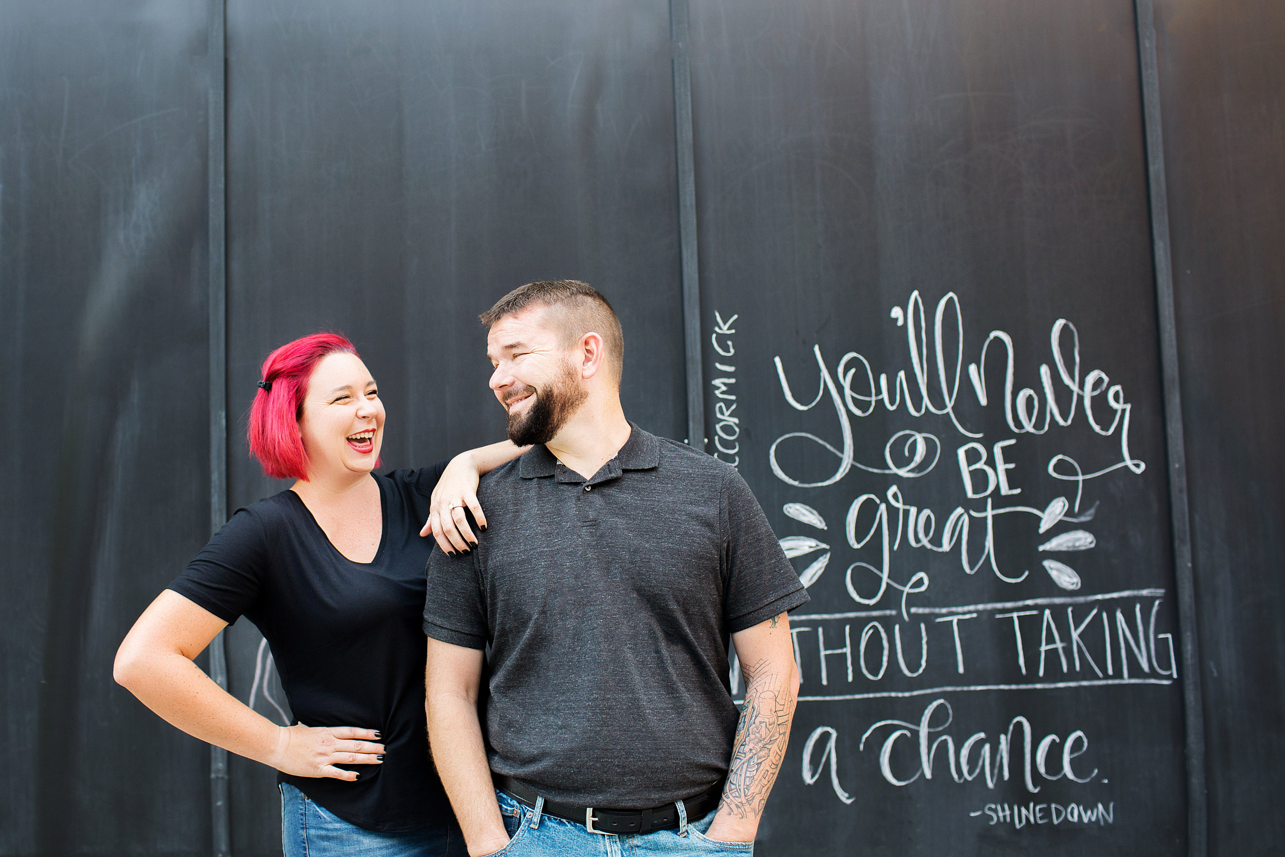 Beck and Jeff of Autumn Lane Paperie