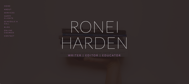 Ronei Harden | Writer, Educator, Editor