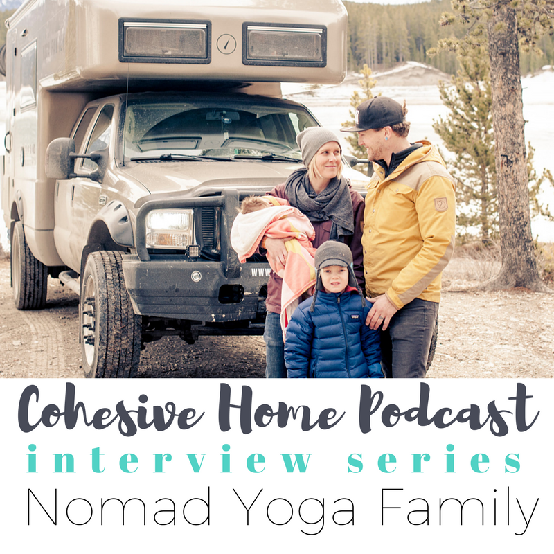COHESIVEHOME.COM  From Canada to Argentina in an Earthroamer: Josh and Jenna are the inspiring couple behind the website Nomad Yoga Family. Although the couple had it all--you know, a thriving yoga studio, their dream home, beautiful children, and plenty of international travel--they decided in 2015 to sell-up and embrace a nomadic lifestyle. They now live in an Earthroamer with their two kiddos and travel to yoga studios throughout North America and beyond to offer business consultations and to teach.