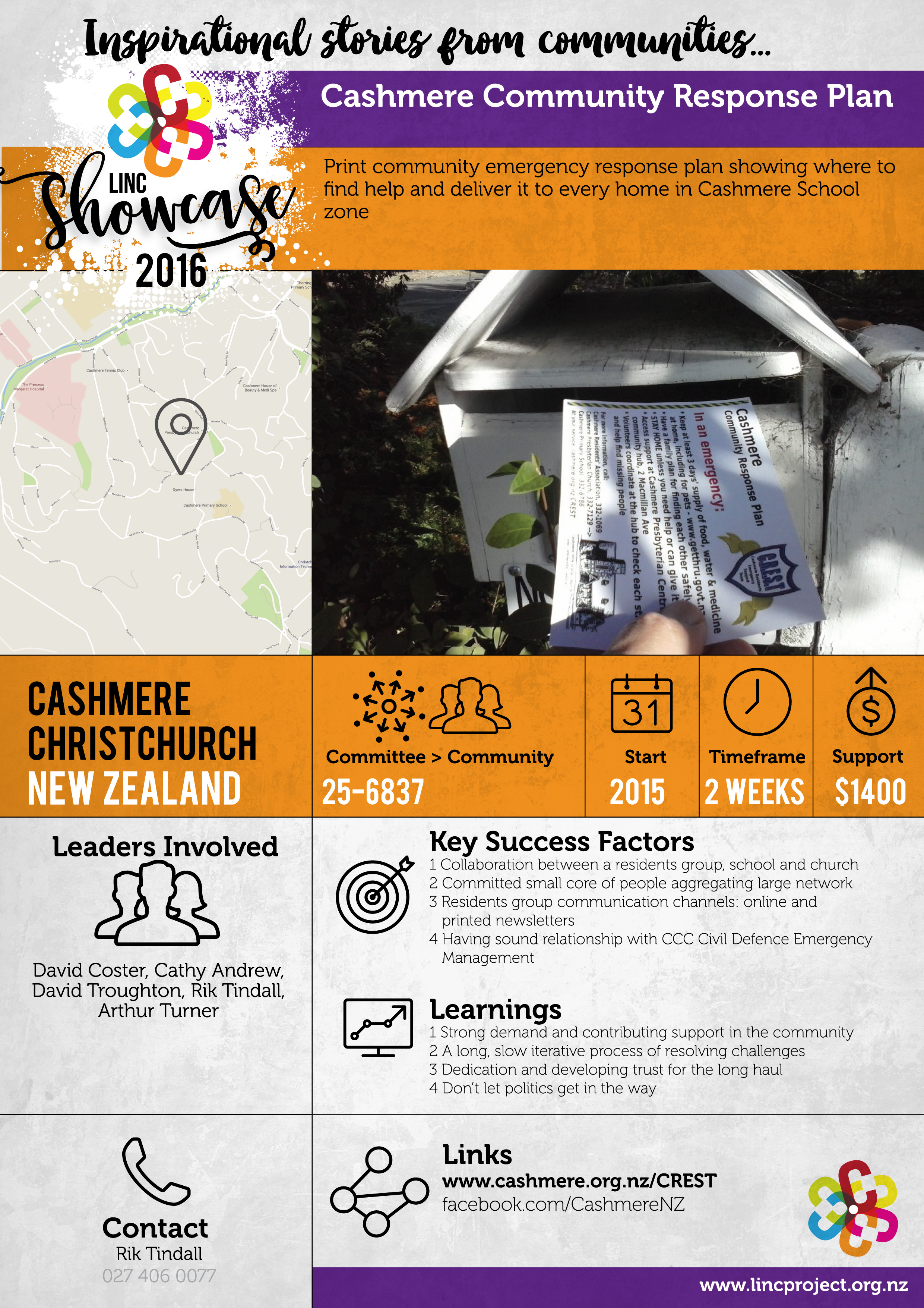 Cashmere Community Response Plan